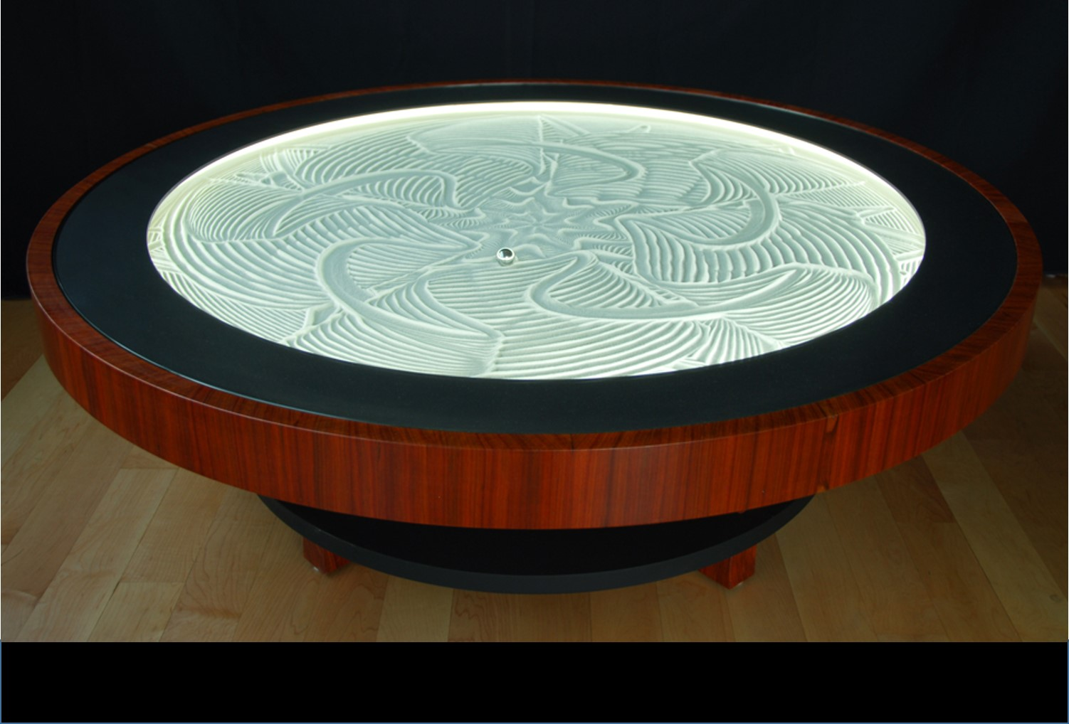 This Stunning Self-Sand-Drawing Kinetic Art Table Is About To Nab $2M On Kickstarter