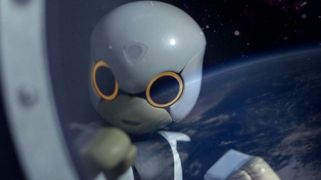 Kirobo Mini robot companion on a space expedition