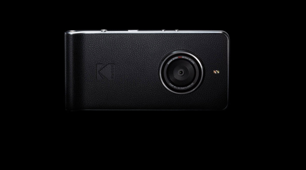 Kodak Has A New Smartphone, And It's Essentially A Camera