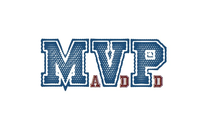 MVP ADD logo, which stands for Minimum Viable Product Attention Deficit Disorder