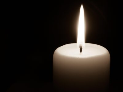 candle representing Mylestoned mourning app for memorializing deceased