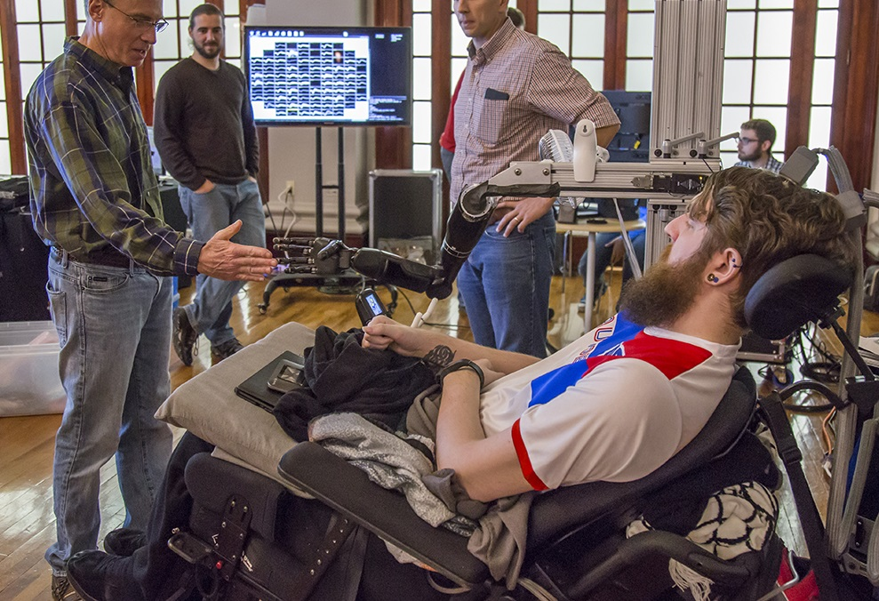 A Paralyzed Man Can Feel Touch Through A Prosthetic Hand