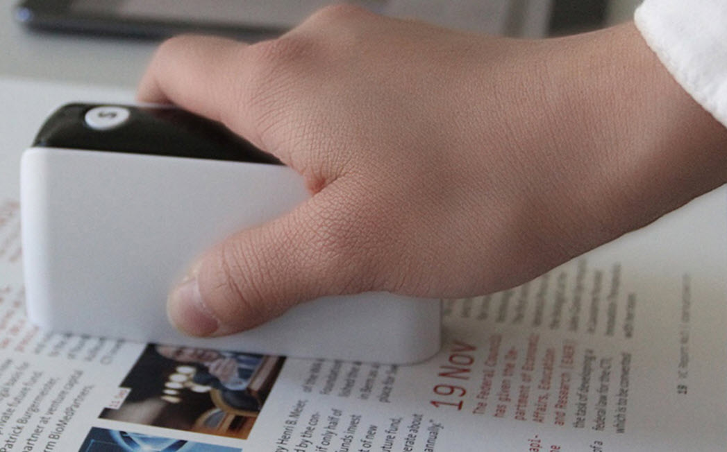 Size Matters: Super Tiny Scanners & Printers Are Just Plain Cool
