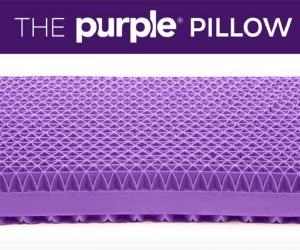 purple pillow booster Kickstarter campaign