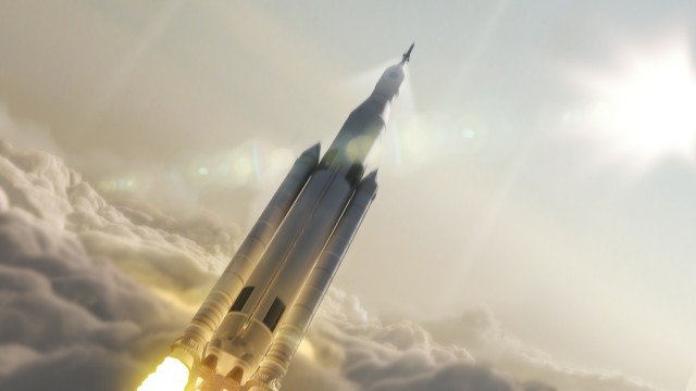 Elon Musk's proposed rocket to mars