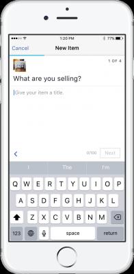 selling facebook marketplace app