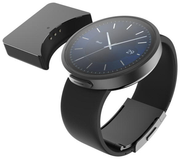 iBeat smartwatch wearable with detachable battery
