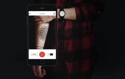 tattoo preview app augmented reality inkhunter