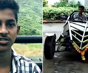 A Mumbai Teen Built A Crazy Car With Just YouTube Tutorials & $3,700