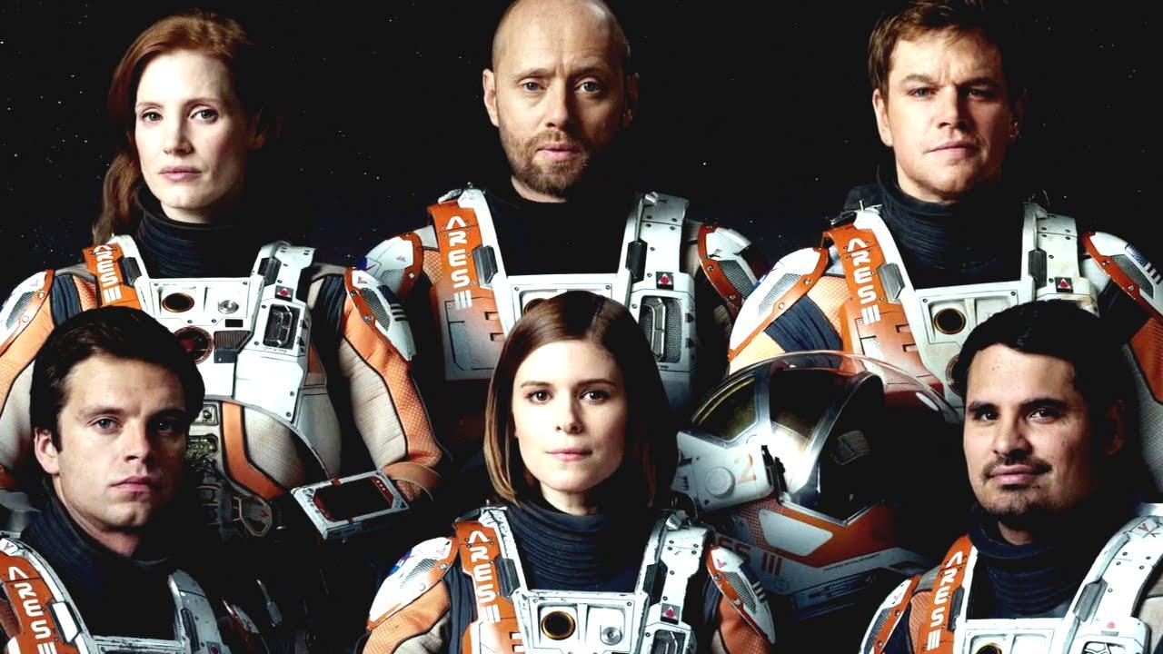 the cast of The Martian or perhaps Elon Musk's first crew