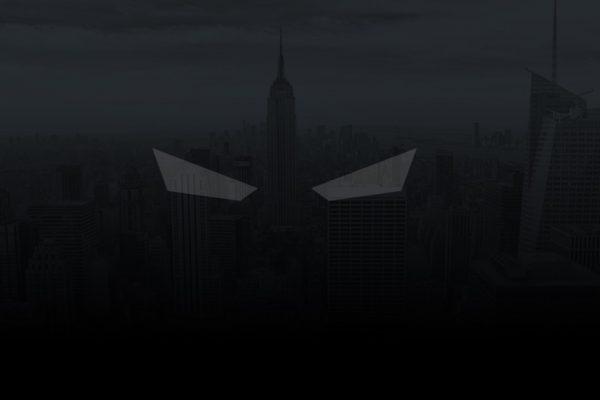 Vigilante app symbolized by eyes in a dark sky