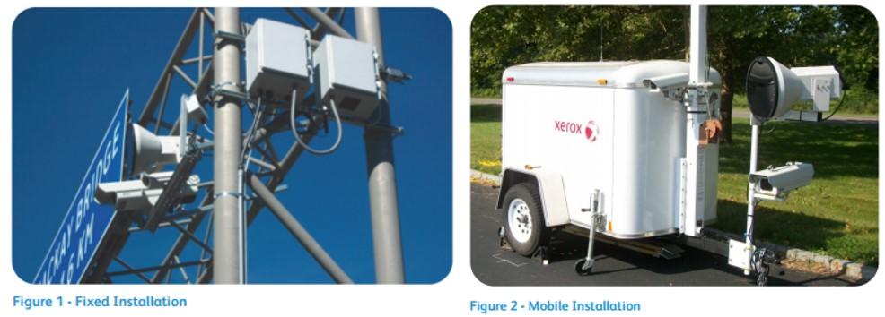Xerox HOV lane vehicle passenger detection system
