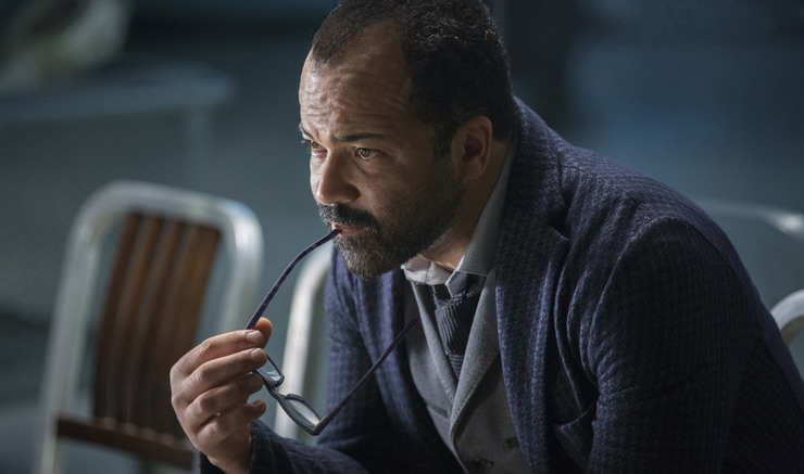 Jeffrey Wright as Bernard in Westworld on HBO