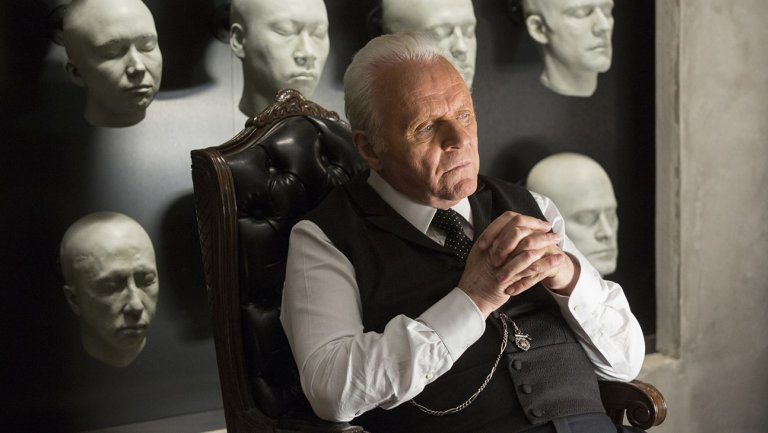Dr. Ford on HBO's Westworld played by Anthony Hopkins