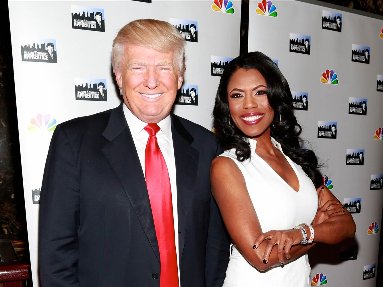 Donald Trump and Apprentice villain Omarosa