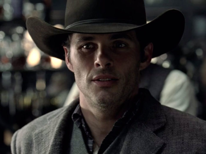 James Marsden as Teddy Flood on HBO's Westworld