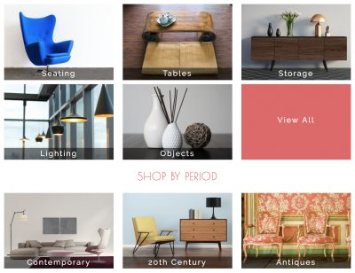 Vinterior Luxury Designer Vintage Antique Furniture