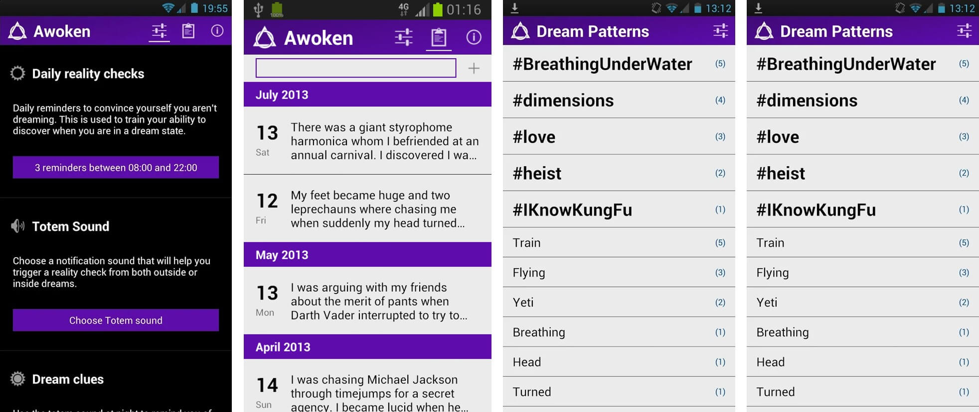 awoken lucid dream app