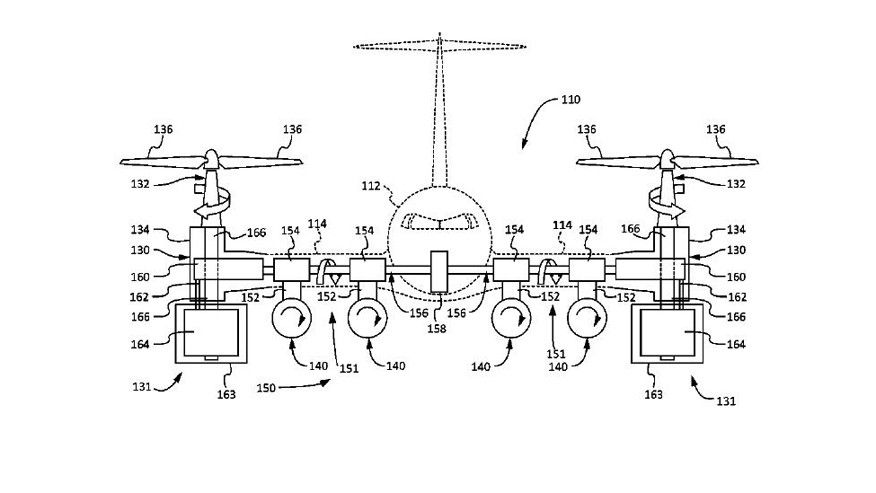 Boeing patent for helicopter-plane hybrid takes off vertically