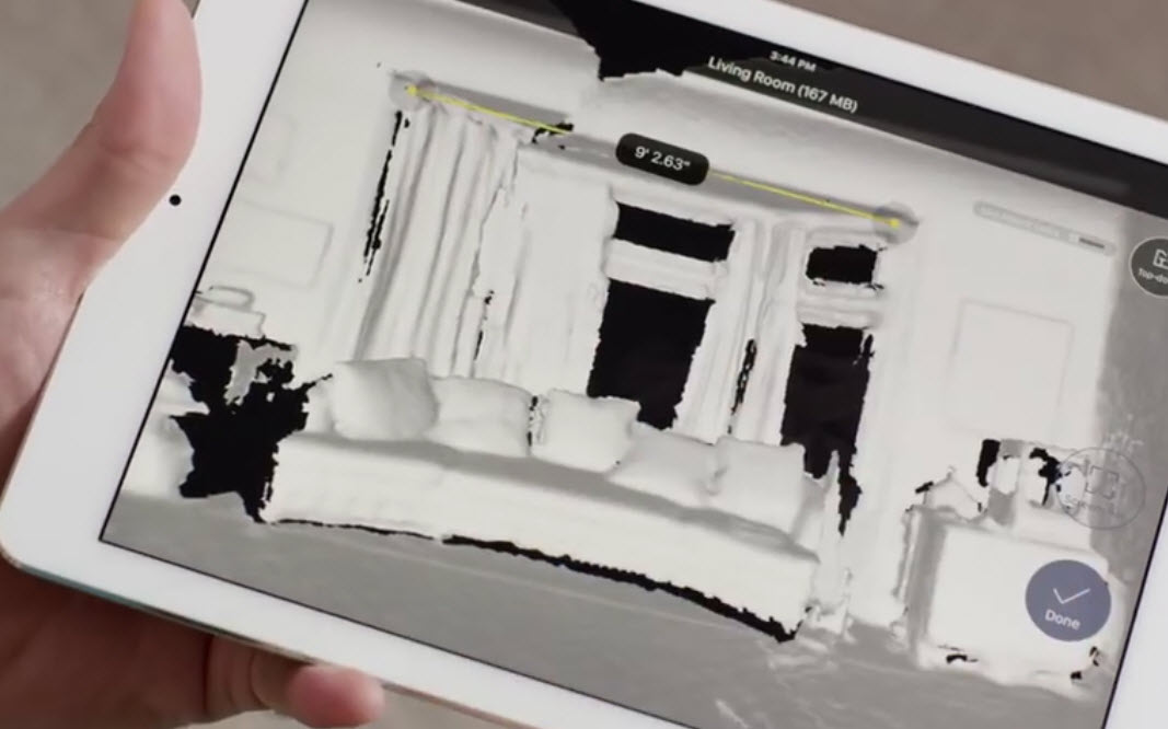 digital 3d model of your home with canvas