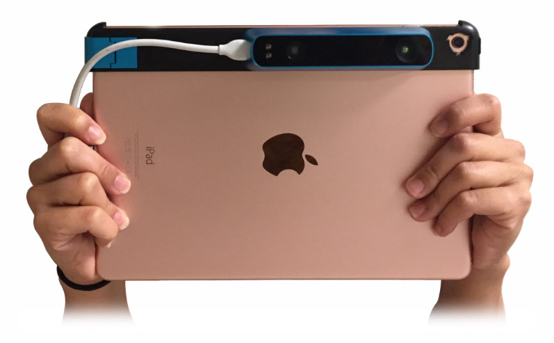 canvas 3d scanner for ipad