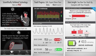 cardiio heart monitoring app