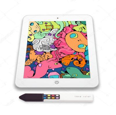 coco color stylus ipad coloring book