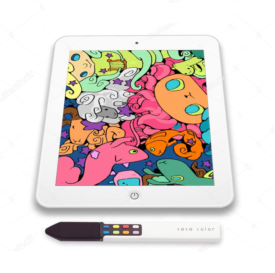 coco color stylus ipad coloring book
