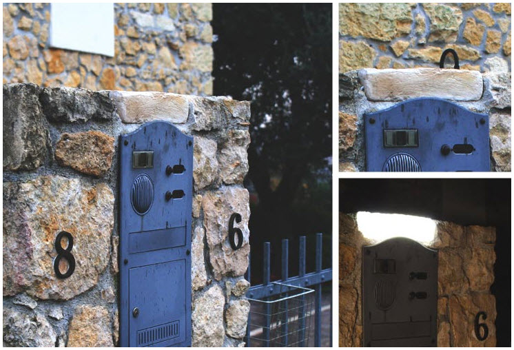invisible solar panels that look like stone in a wall
