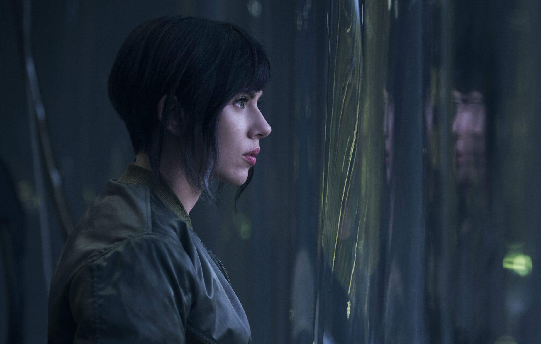 ghost in the shell Scarlett Johansson Steven Spielberg