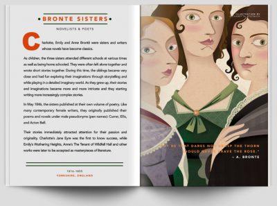 good night stories for rebel girls bronte sisters