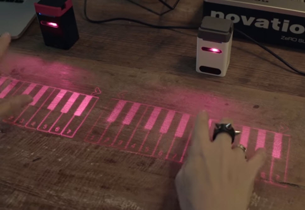 ikeybo virtual projection keyboard and virtual piano