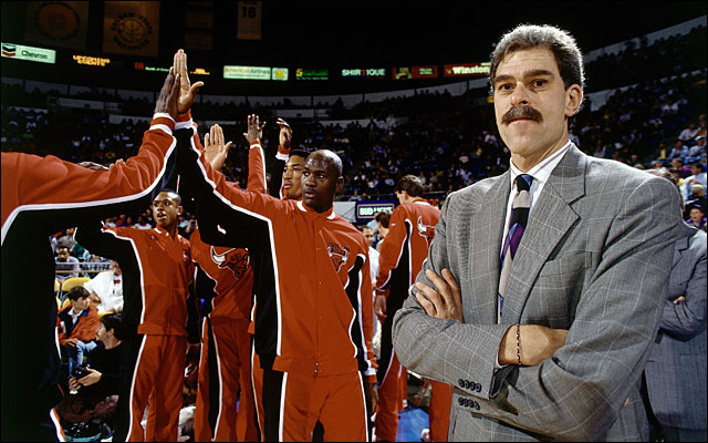 Phil Jackson as basketball coach and business leader