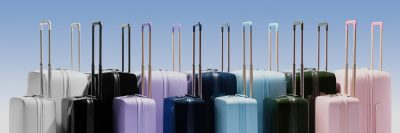 raden smart luggage colors