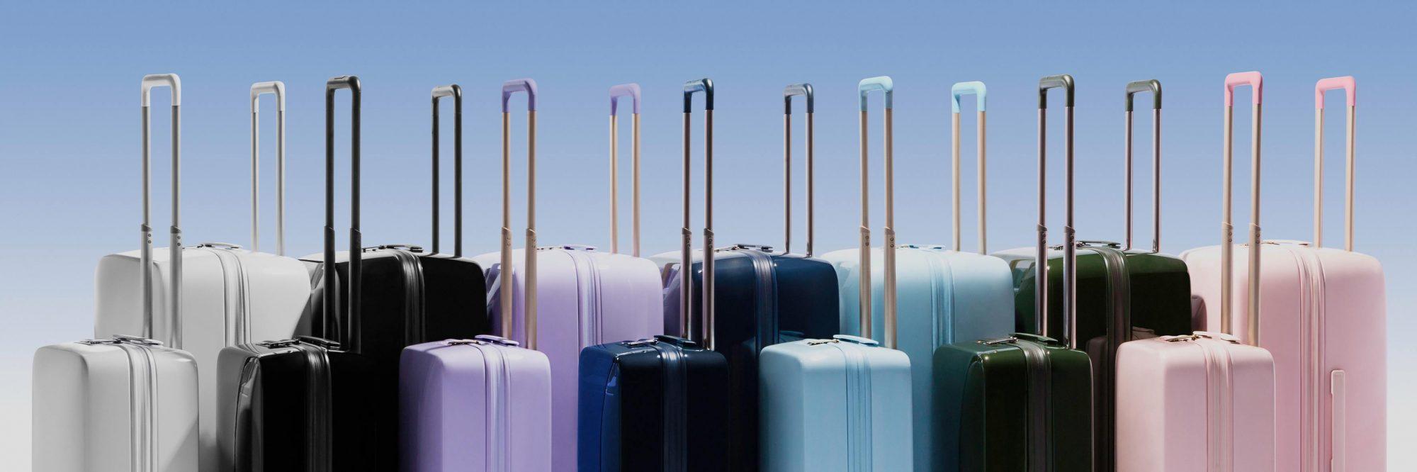 raden smart luggage colors