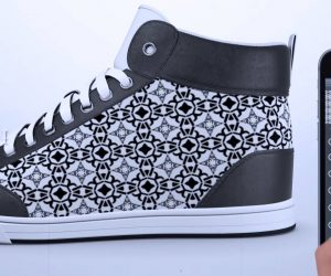 smart clothing custom sneakers
