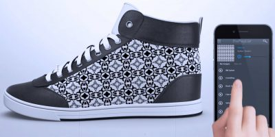 smart clothing custom sneakers