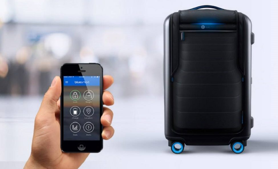 Smart Luggage That Follows You, Drives You, Weighs Itself And More