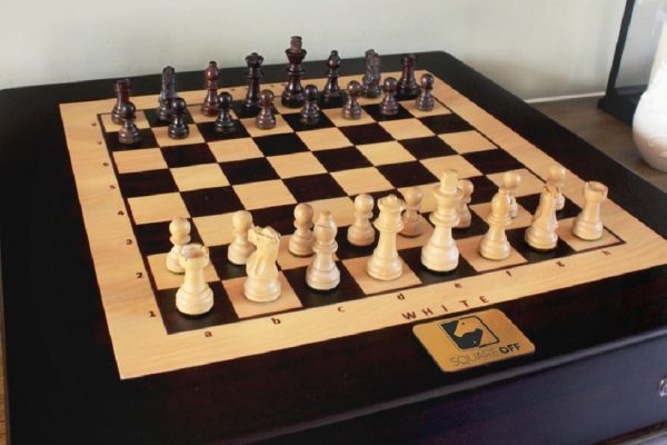 robotic chessboard with artificial intelligence by Square Off