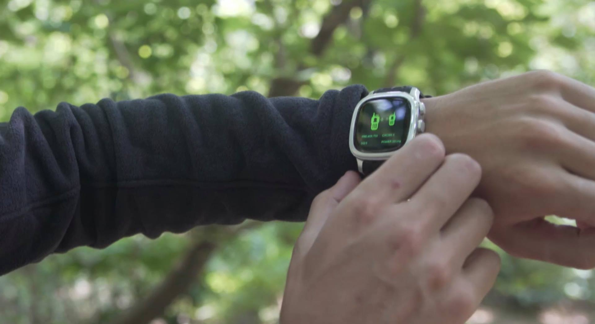 Finally, A Smartwatch That's Also A Walkie Talkie