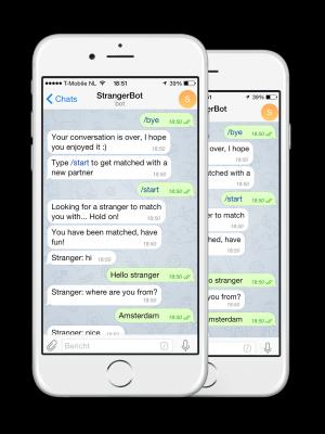 stranger bot telegram best bot competition