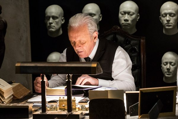 Anthony Hopkins as Dr. Ford on HBO's Westworld