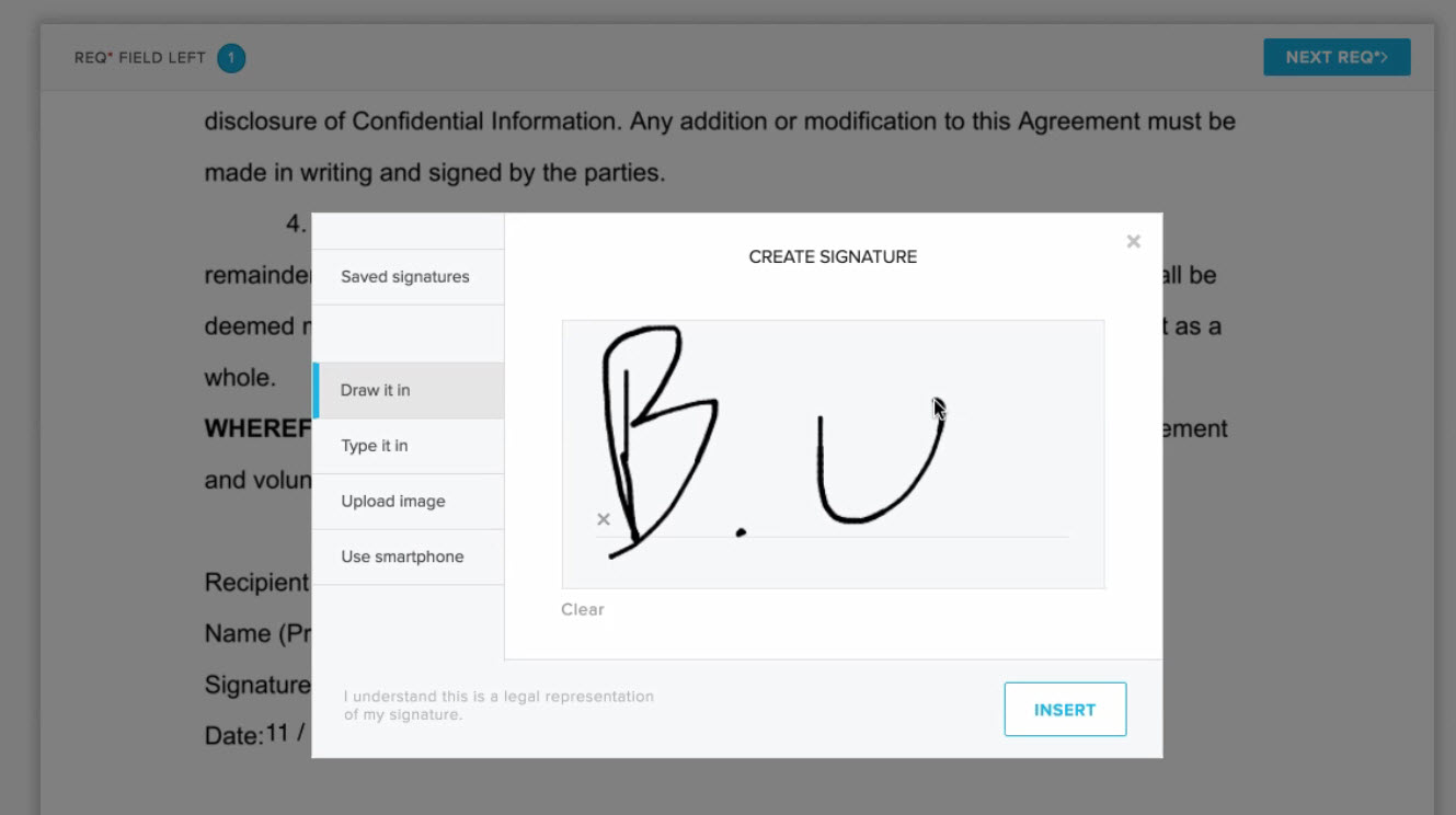hellosign workflow esignature gmail