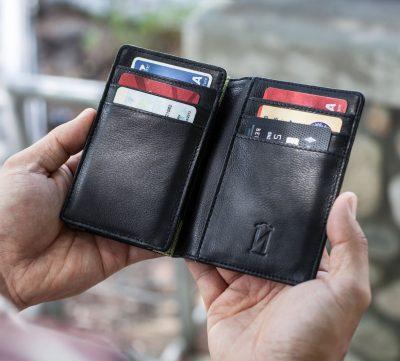 Power Wallet Phone Charging FOLIO Wallet w Slim Battery VoltNow