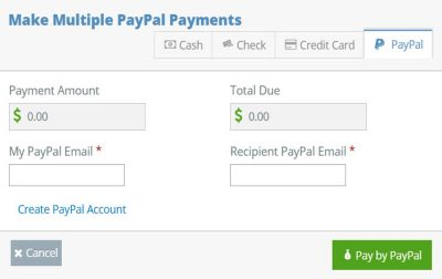SupportPay Screenshot paypal payment