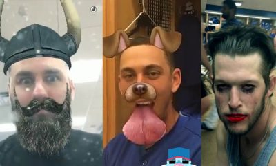 snapchat filters dodgers