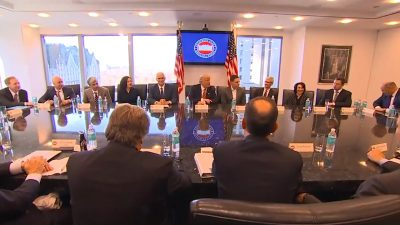 donald trump meeting with silicon valley leaders