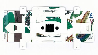 foldscope origami paper microscope