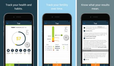 testing male fertility with smartphones trak software