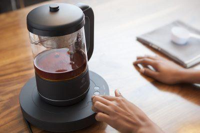 qi aerista smart tea machine buttons snapmunk